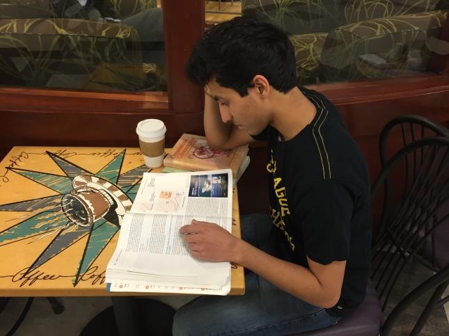 MirandaStudying