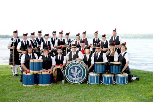 96th Highlanders 2011 Color shot