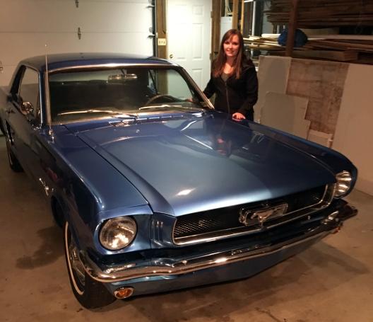 Rachel Sheridan's car1