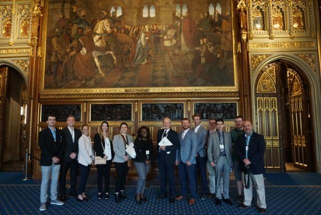 London and Ukraine trip.