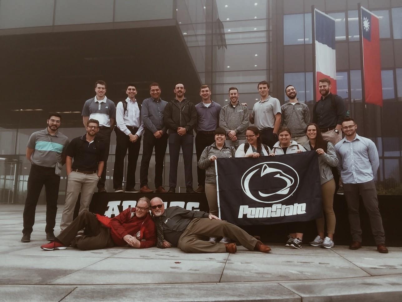 Group Photo at Arburg