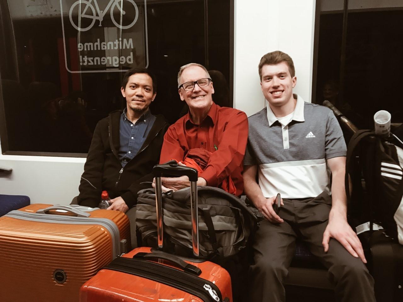 Happy Train Travelers featuring Dr. Smith, Dr. Jaafar, and Ryan Malatesta (Rye Bread)