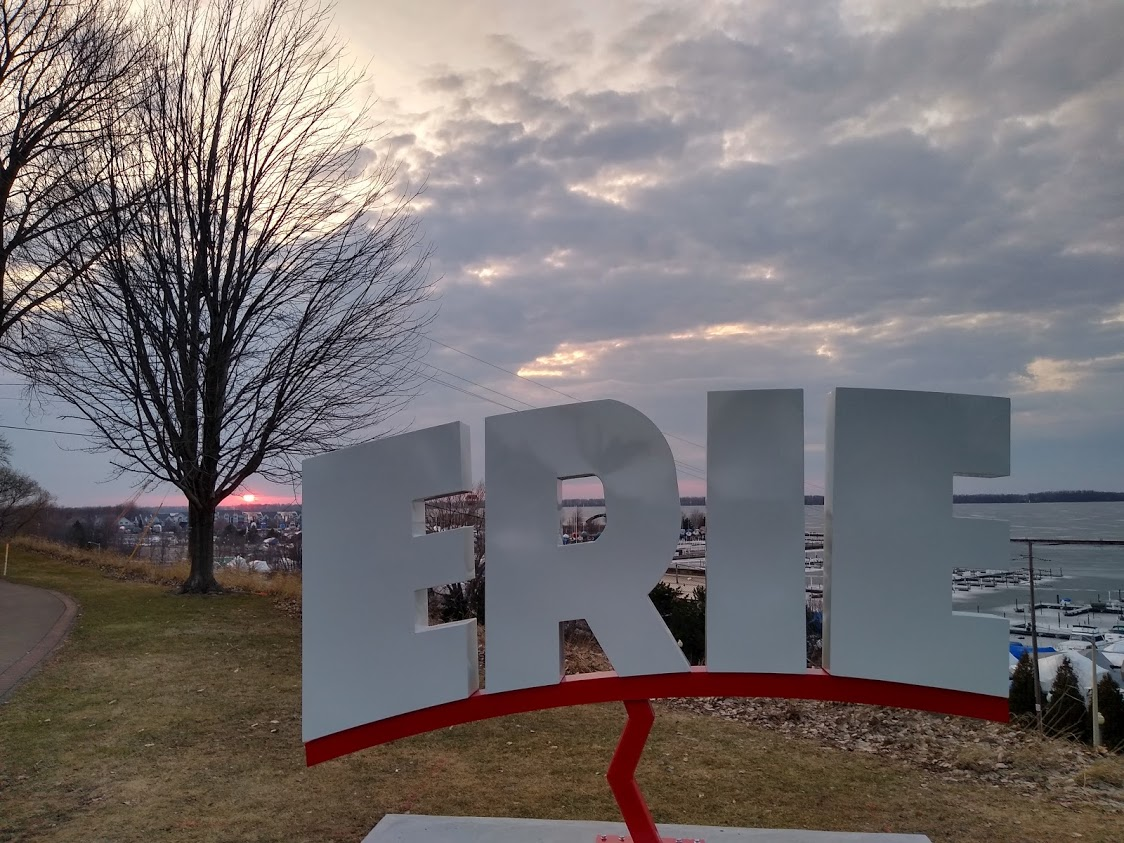 Erie sign