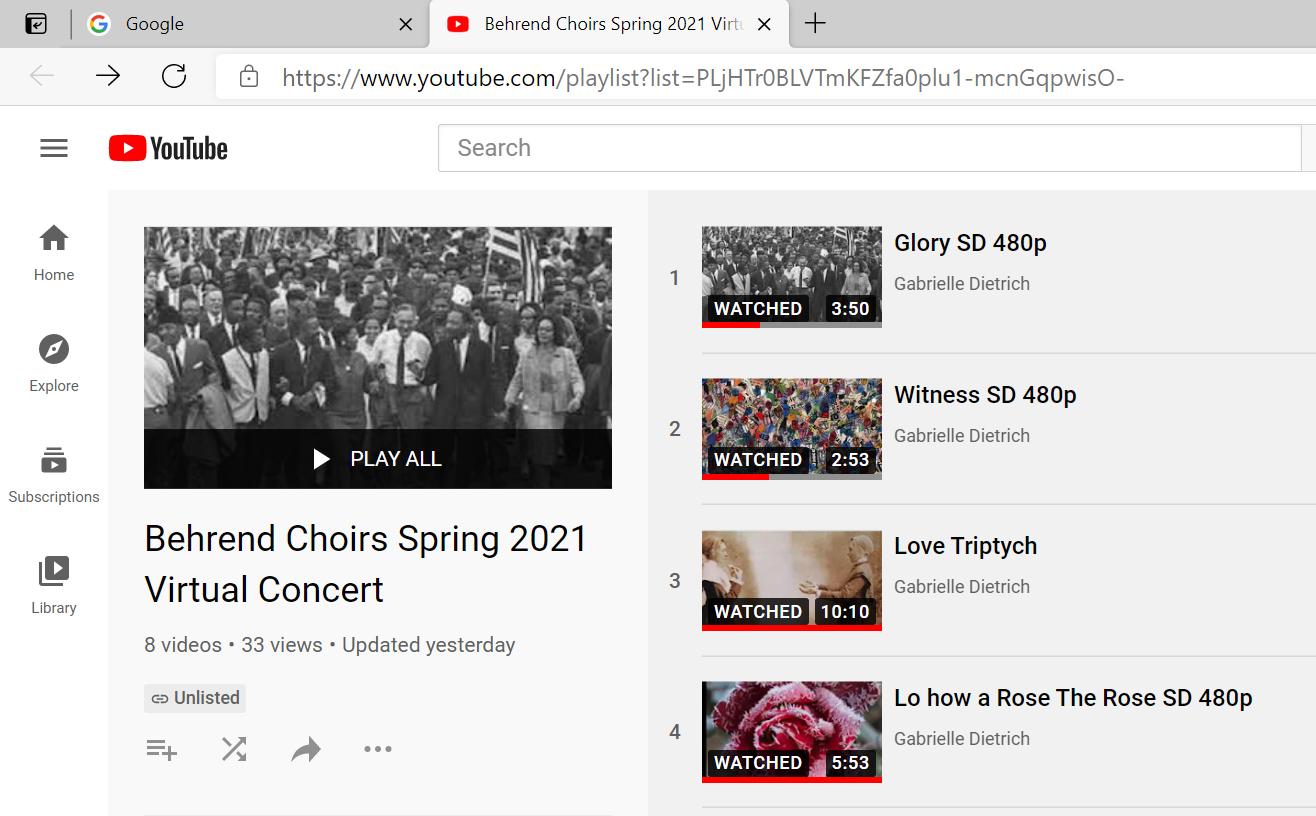virtual concert commemmorates unusual year
